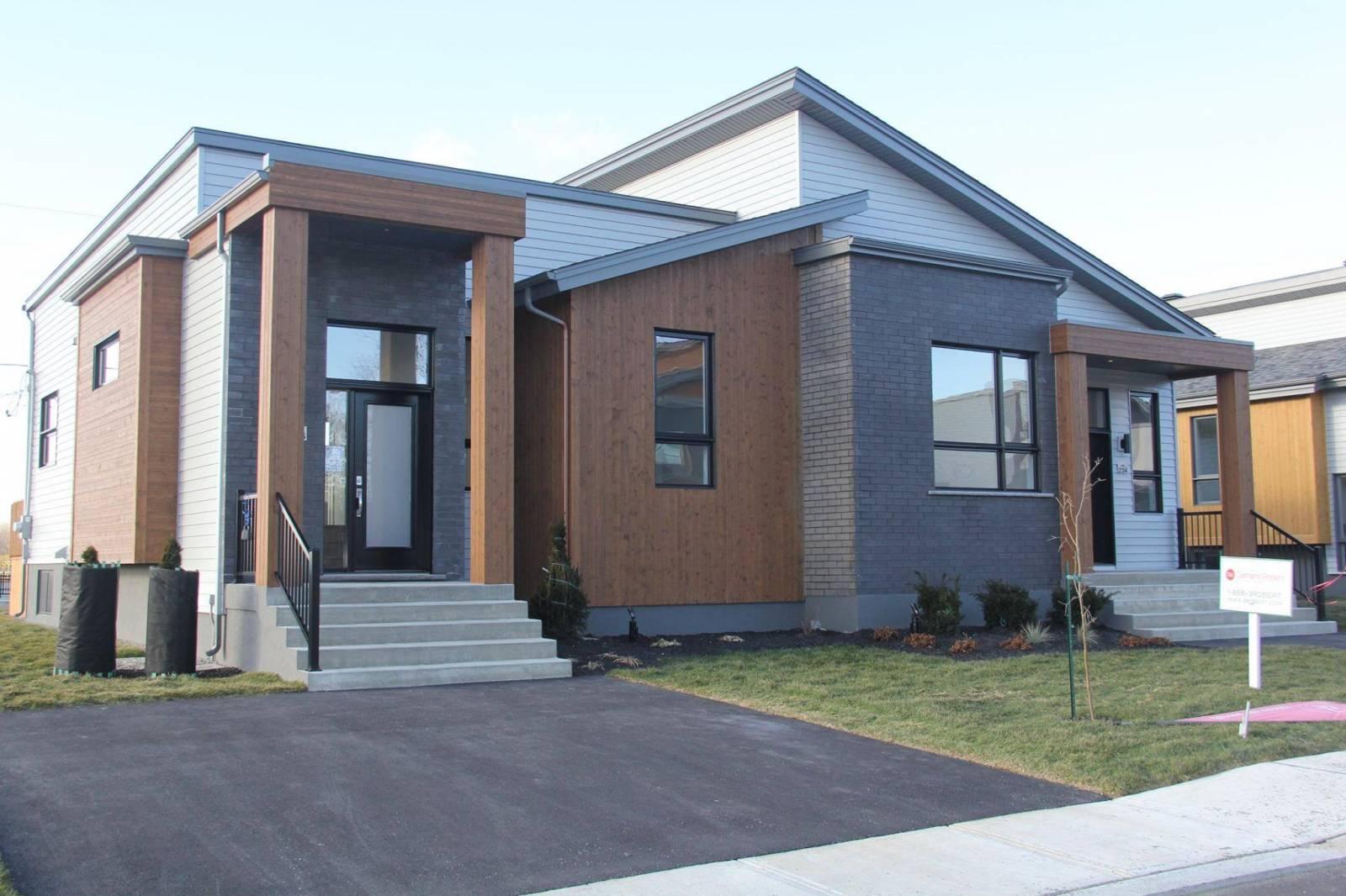 portes et fenêtres style zen maison jumelée